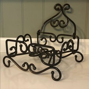[Princess House] Meridian Metal Napkin Holder